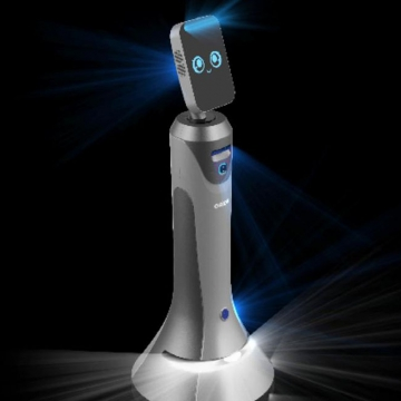 萝小秘AI测温智能机器人